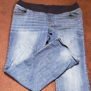Liz Lange Maternity Jeans SZ 18